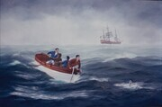 Man Overboard 24in x 36in $2,000.