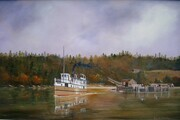 Bedwell Harbour, Pender Island, early 1900s 16in x 24in $2,500.